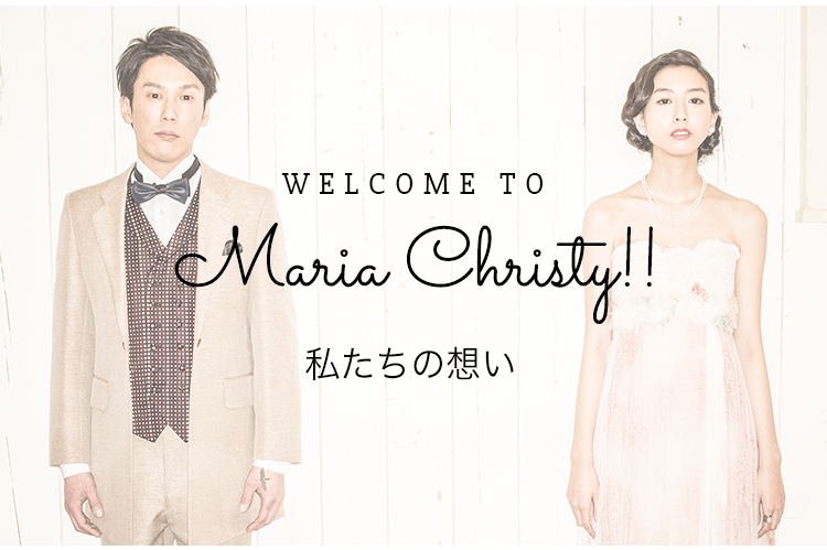 WELCOME TO Maria Christy